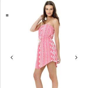 Lagaci strapless dress/beach cover up